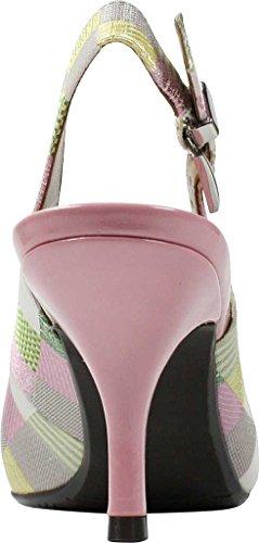 Women's Fabric J Multi Renee Lloret Pump Pastel 5n8xgBfwxW