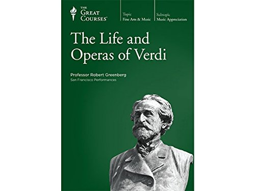 The Teaching Company: Life and Operas of Verdi 32 Audio Cds with Course Outline Booklet (The Great Courses)