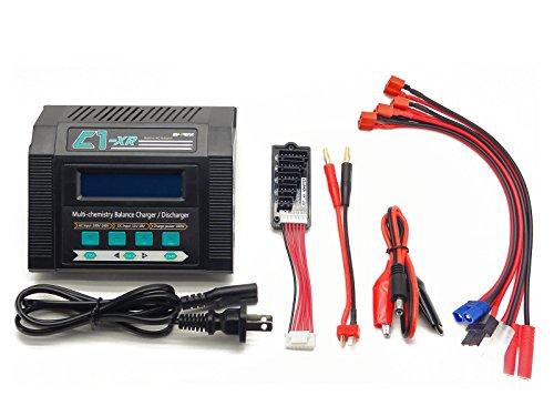 C1-XR CAR 10Amps 100Watts LiPo LiHV LiIon Life NiCd NiMh AC/DC Multi-Chemistry...