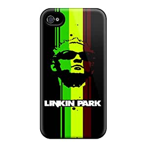 Scratch Resistant Cell-phone Hard Cover For Iphone 4/4s With Custom Beautiful Linkin Park Skin MansourMurray