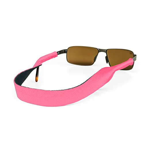 Croakies Original Sport Eyewear Retainer (16 Inches, Pink)