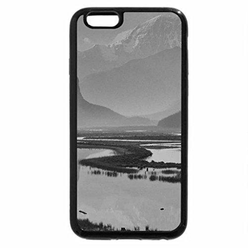 iPhone 6S Plus Case, iPhone 6 Plus Case (Black & White) - Sunwapta Valley, Alberta, Canada