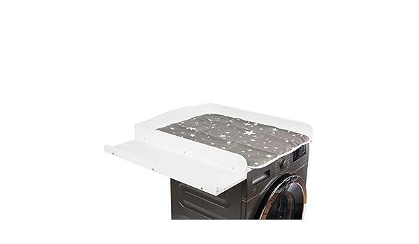 Cambiador para lavadora y secadora, blanco, MDF, cambiador, 83 cm ...