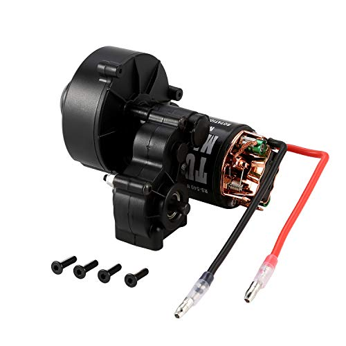 AUSTARHOBBY Center Gearbox Transmission +540 Brushed Motor 21T 27T 35T 45T 55T for SCX10 D90 1:10 RC Rock Crawler Car