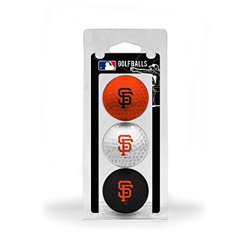 San Francisco Giants Team Ball - MLB San Francisco Giants 3 Golf Ball Pack