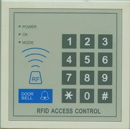 NAVKAR Digital Security Electronic RFID Proximity Door Lock Access Controller