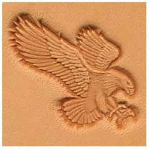 Springfield Leather Company Attack Eagle 3D Stamp Right Facing