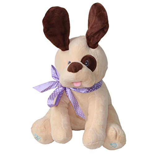 Kids Doll, Emubody 2017 Dog Baby Soft Plush Toy Singing Stuffed Animated Animal Kid Doll Gift