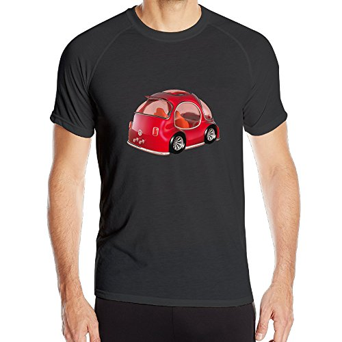 Mens VW Beetle Fast Dry Short-sleeve Sport Jersey Tees (Vw Beetle Glove Box Latch)
