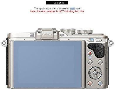 New Liphobia oylmpus Pen e-pl8 Camera Screen Protector 2pc Hi Clear Anti Finger