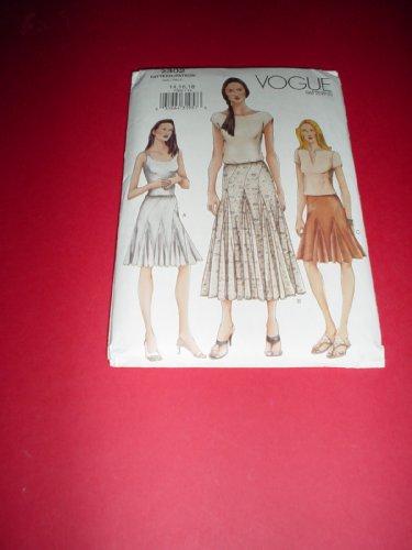 - Vogue Pattern #7302: Misses