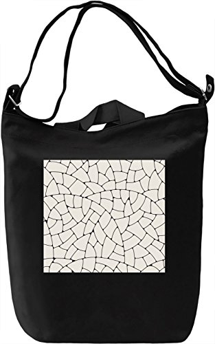 Leaf Close Up Pattern Borsa Giornaliera Canvas Canvas Day Bag| 100% Premium Cotton Canvas| DTG Printing|