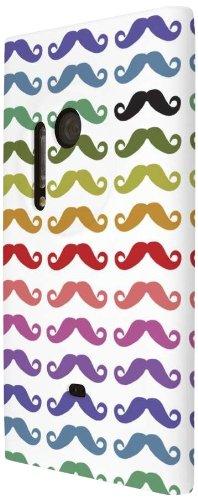 Empire Signature Series Slim-Fit Case for Nokia Lumia 1020 - Retail Packaging - One Black Mustache (Nokia Lumia 1020 Best Price)