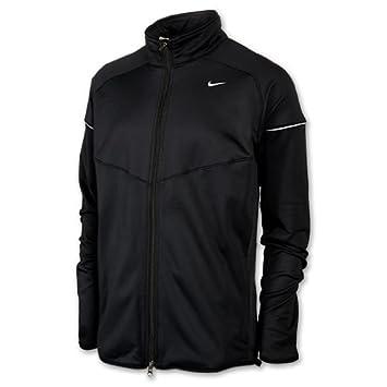 Nike Herren Laufjacke Element Thermal Full Zip, blackblack
