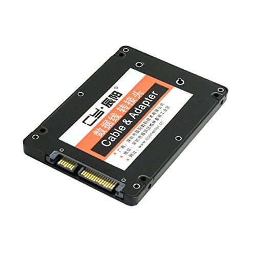 CY Mini PCI-E mSATA SSD to 2.5 SATA Hard Disk Enclosure Case Converter Adapter for Intel Samsung Asus SSD