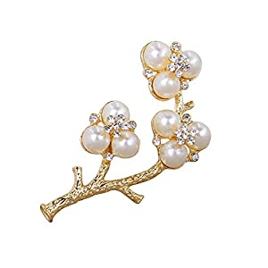 Winter's Secret Brooches The Plum Blossom Paragraph Three Lane Elegant Wedding Bride Corsage