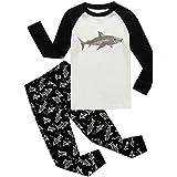 Shark Little Boys Long Sleeve Pajamas 100%...