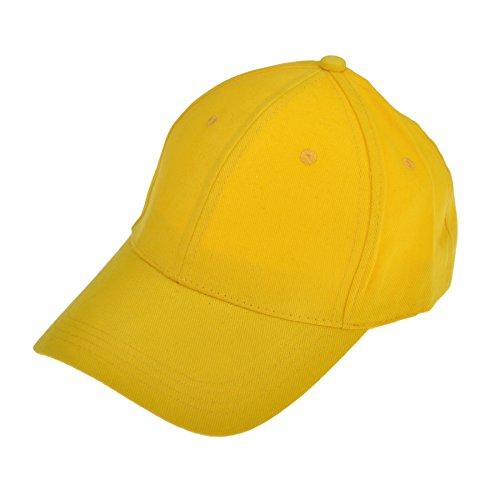 Opromo 100%コットン6パネル構造の調節可能な野球帽