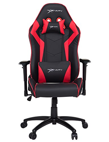 E-WIN High Back Gaming Chair With Headrest and Lumbar Suppor