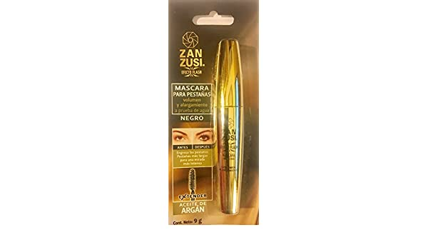 Amazon.com : ZAN ZUSI EXTENDER Waterproof Black Mascara 9g Mexico : Beauty