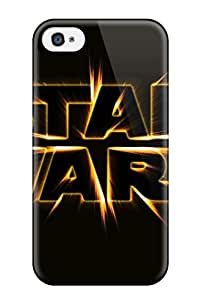 Quality JudyK Case Cover With Star Wars Logo Nice Appearance Compatible With Iphone 4/4s