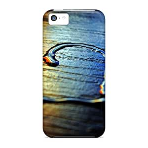 Iphone 5c Case Cover Skin : Premium High Quality Colored Heart Case