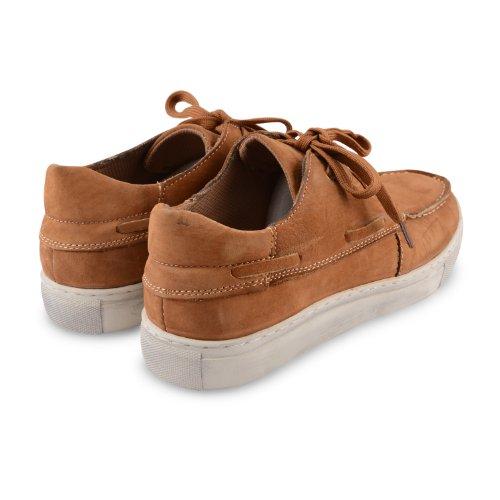 Footwear Sensation - Náuticos para hombre marrón marrón marrón - Tan Nubuck Leather