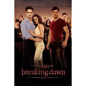 "The Twilight Saga: Breaking Dawn Part 1 Poster ~ Cast ~ 22.25"" X 34"""