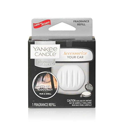 (Yankee Candle Charming Scents Car Air Freshener Refill, Black)
