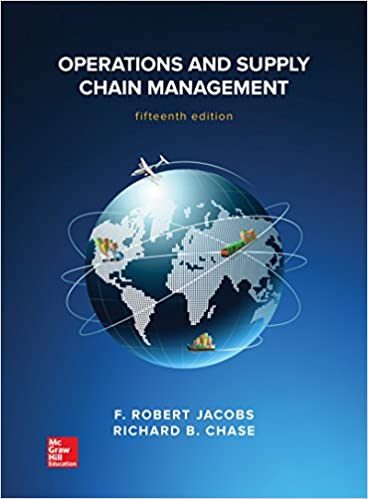 amazon operations and supply chain management mcgraw hill