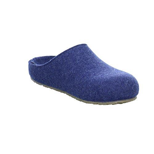 Unisex Pantofole adulto Michl Blau Haflinger Grizzly Jeans qzOtRxfHn