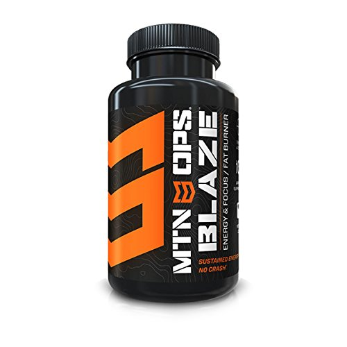 MTN OPS Blaze Weight Loss Supplement Powder Bottle (30 Servings)