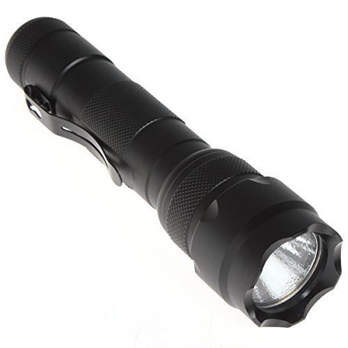 BESTSUN LED Torch Light Flashlight Waterproof with Single 1 Mode Tactical Torch,WF-502B(Flashlight Only)