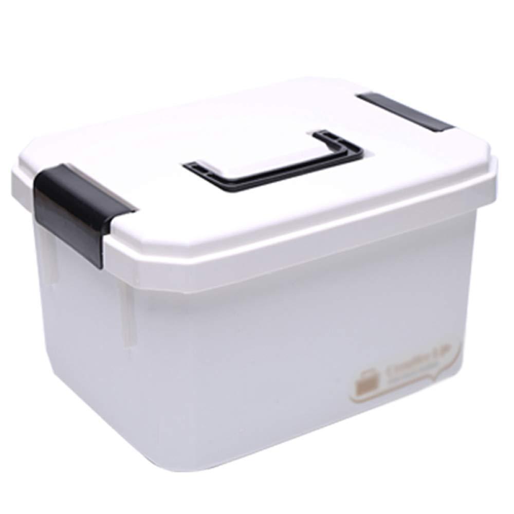 ドラッグ収納ボックス 医療箱プラスチック材料、ポータブルポータブル大容量多層防湿防塵、家庭用薬箱スーツケース子供緊急医療箱旅行ポータブル医療箱薬収納ボックス - 2サイズ (サイズ さいず : 33*25*18cm) 33*25*18cm  B07MX6SKWV