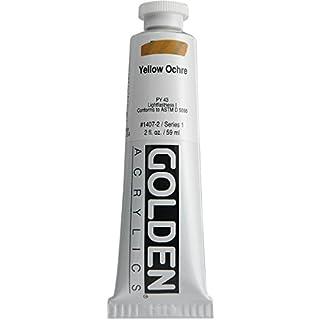 Golden Artist Acrylic, 2 Ounce Tube, Yellow Ochre (1407-2)