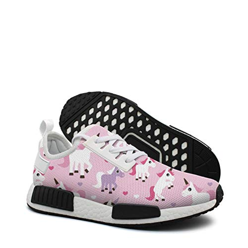 Pink Unicorn Horse Lovely 80s running shoes nmd sneakers