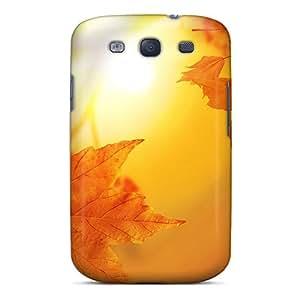 KVmFyLJ7720oNbMB Snap On Case Cover Skin For Galaxy S3(autumn)