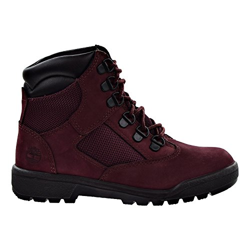 (Timberland 6 inch Little Kids (PS) Field Boots Burgundy tb0a1ato (3 M US))