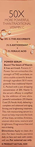 Peter Thomas Roth Potent-C Power Serum, Brightening Vitamin C Serum for Fine Lines, Wrinkles, Uneven Skin Tone, Texture and Dehydrated Skin