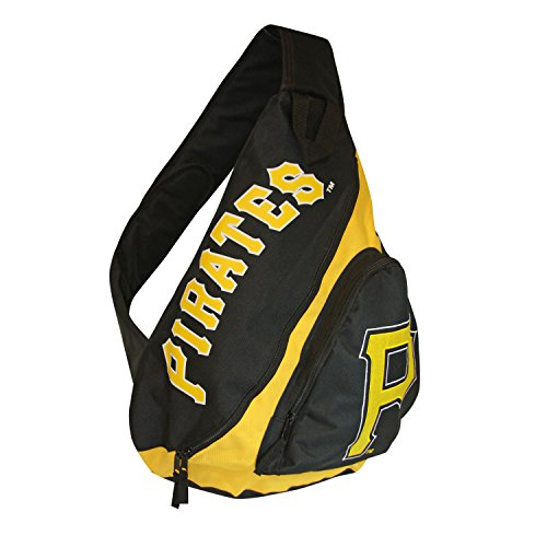 MLB Pittsburgh Pirates Slingback Backpack, 8.5-Inch, Yellow