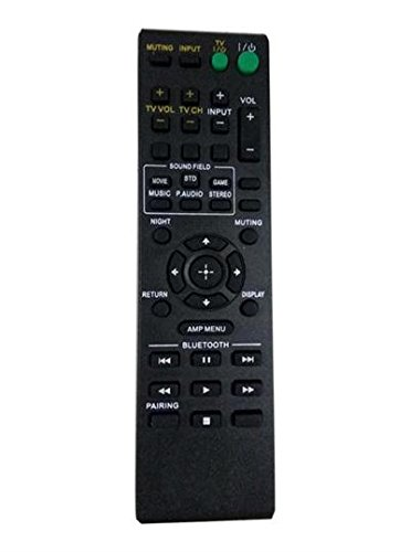 New Replacement Remote Control Fit for RM-ANP084 149050111 for Sony DVD/DVDR Home Theater Audio HT-CT260 HT-CT260C HT-CT260W -