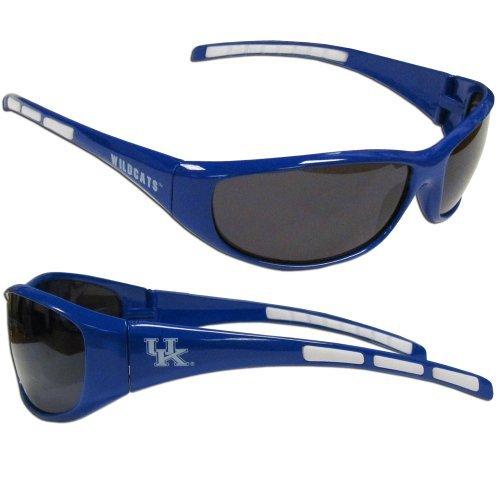 NCAA Collegiate Team Logo Sports Wrap Sunglasses - Choose Team! (Kentucky ()