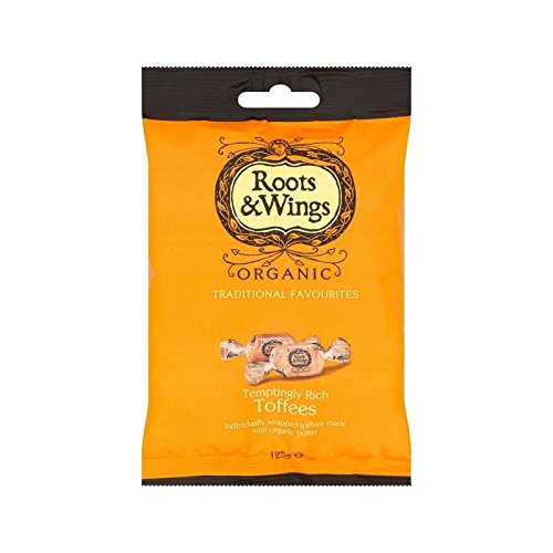 Roots & Wings Organic Toffees 125g - Pack of 6