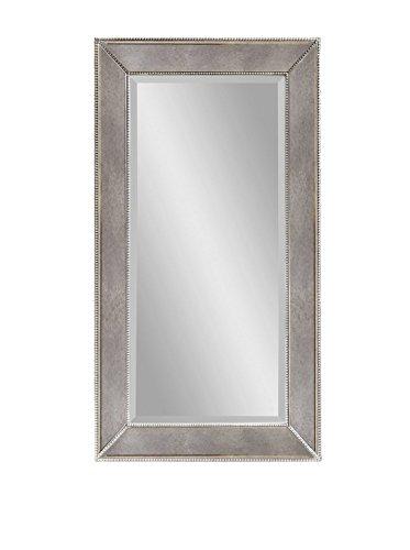 Bassett Mirror Beaded Wall Mirror, 48-Inch, Antique Mirror