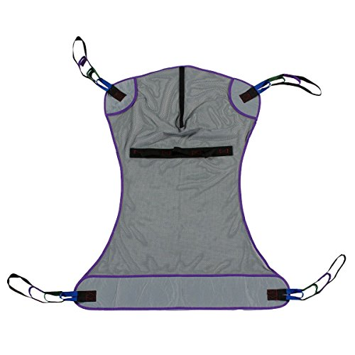 Full Body Mesh Patient Lift Sling, 600lb Weight Capacity (Medium)