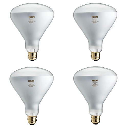 Philips 459404 EcoVantage 65W Equivalent Halogen BR40 Flood Light Bulb 4 Pack