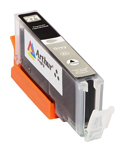 6 Pack Arthur Imaging Compatible Ink Cartridge Replacement for 270XL 271XL (1 Large Black, 1 Small Black, 1 Cyan, 1 Yellow, 1 Magenta, 1 Gray, 6-Pack) Photo #7