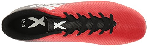 Adidas Menns X 16,4 Fxg Fotball Sko Rød / Hvit / Sort