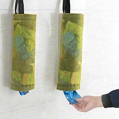 ゴミ袋を収納する 台所 ビニール袋   収納器 雑物収納ボックス 壁掛け式 抽出できる 収納器 アイデア整理袋 壁掛け式 二枚セット