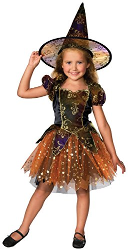 Elegant Witch Costume - (Pink Sparkle Witch Costumes)